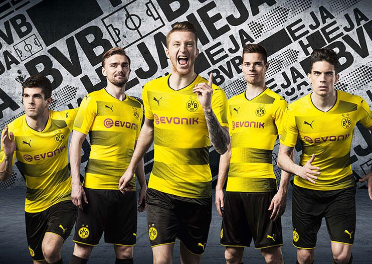 newest aa19b acfd1 Borussia Dortmund's new kit is splitting fans' opinion