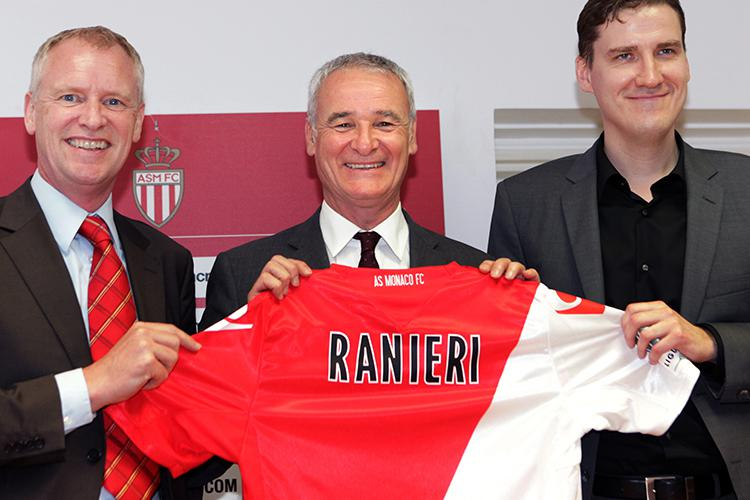 Claudio Ranieri has the grin of a man who knows he's got an endless budget to work with