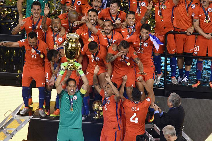 The 2016 Copa America was held in the USA to mark the centenary of the tournament