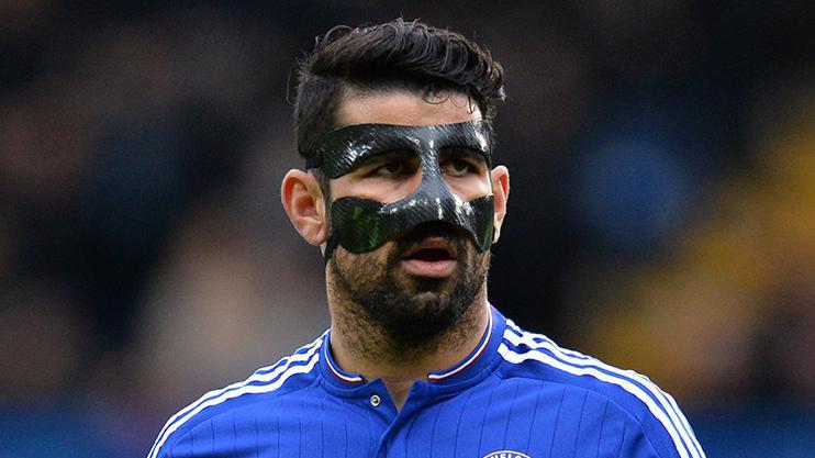 Diego Costa looked the perfect bond villain last season