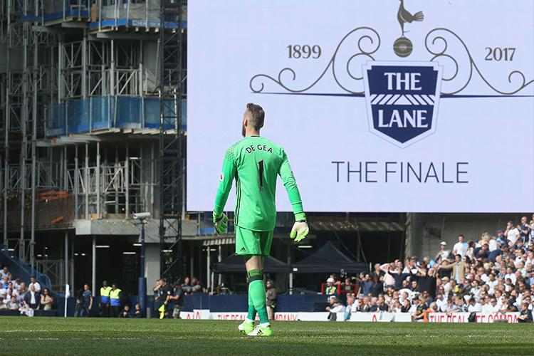 David De Gea has not featured for Manchester United since they lost away at Tottenham