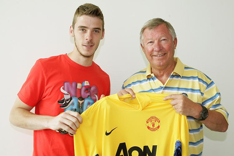 Sir Alex Ferguson signed David De Gea from Atletico Madrid in 2011 for £18.9million