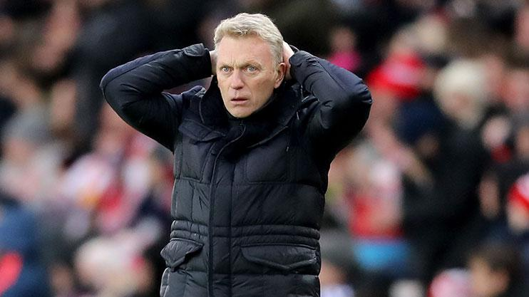 David Moyes' Sunderland side fell well short of the 'new' magic number mark