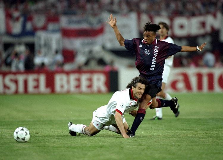 Being bundled over by Edgar Davids is one of football's greatest honours