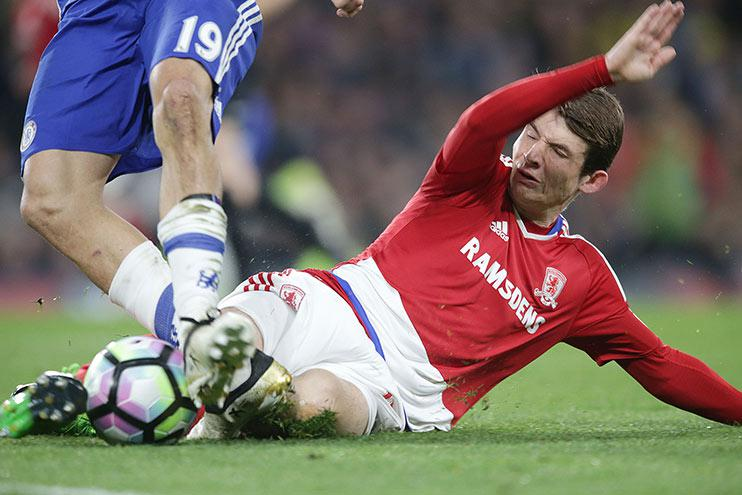 De Roon Is On Fire. Sadly, he plays for Middlesbrough, who haven't been.