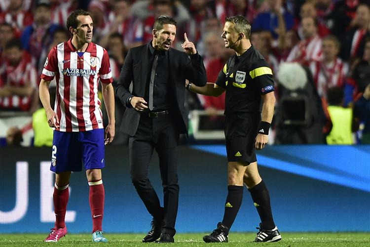 Godin became Simeone's on-field lieutenant for Atletico