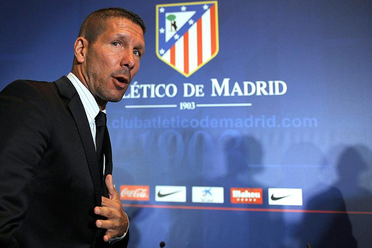Simeone was hired to replace Manzano on 23rd December 2011
