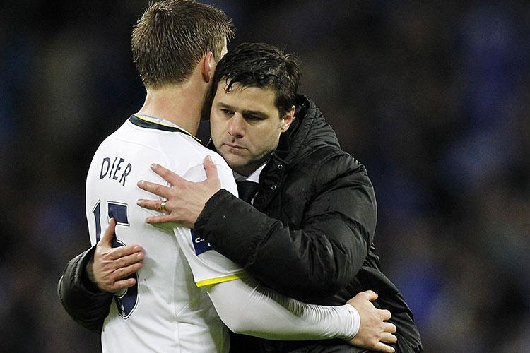 """""""Please don't leave me, Eric."""" """"I was going to say the same to you, boss."""""""