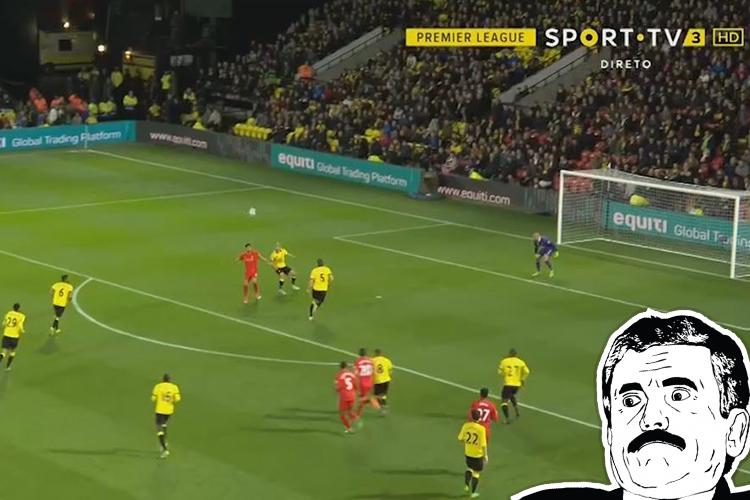 Emre Can prepares to execute an acrobatic volley