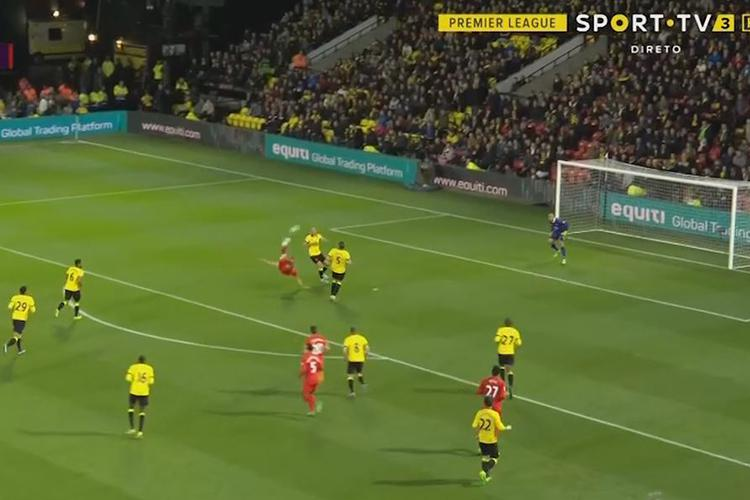 Emre Can opens the scoring in spectacular fashion