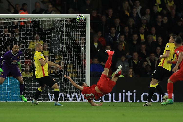 Emre Can takes flight