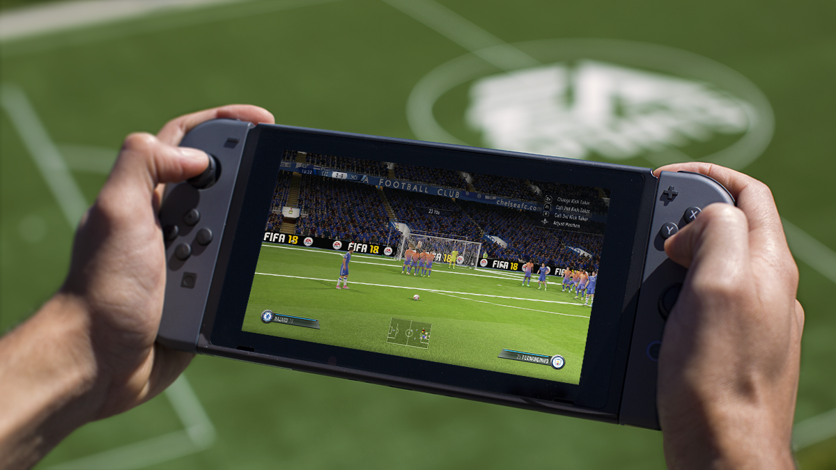 FIFA on the Switch lets you play your friends on the move