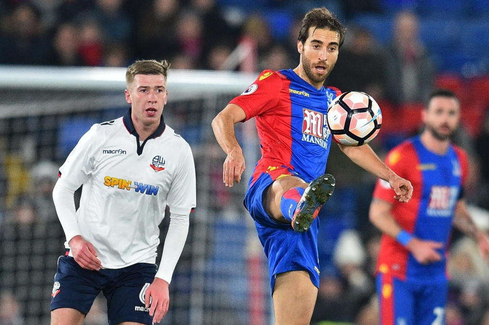 The Palace midfielder also runs a billion-pound energy company