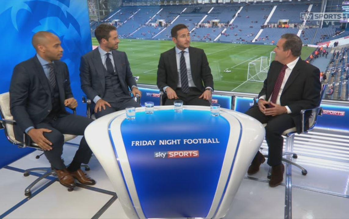 The Friday Night Football panel for West Brom v Chelsea