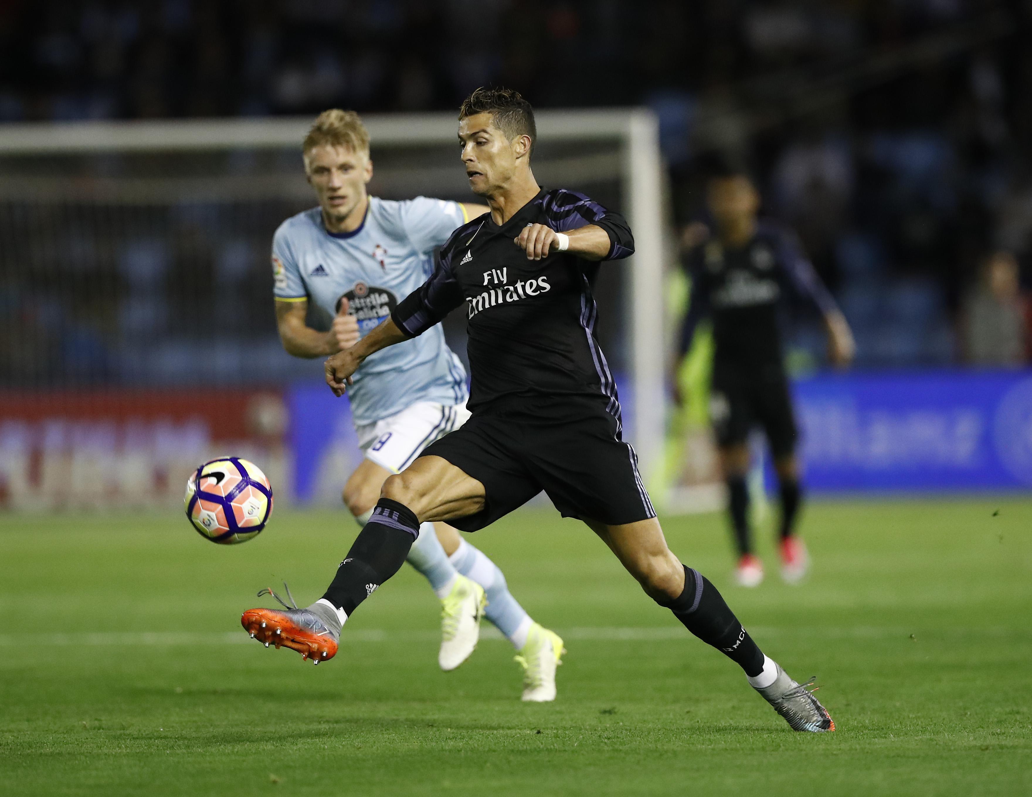 Ronaldo scored 39 goals last season – many scored by his so called weaker foot