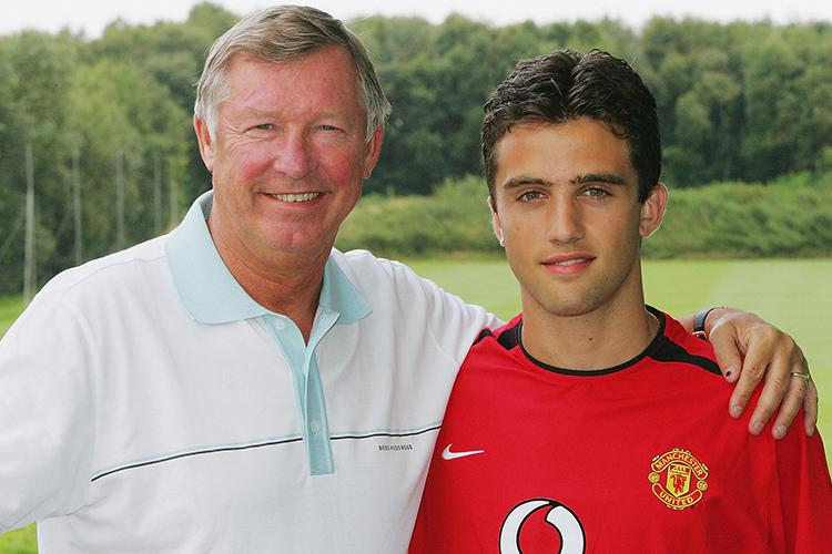 Fergie looking like a proud father