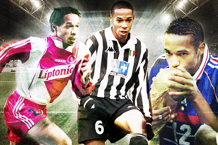 e4969fc6f33 Remembering Thierry Henry s days as a left-winger with Monaco and Juventus