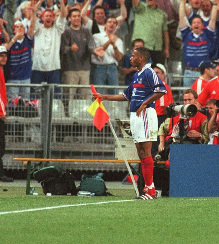 Henry will always be a World Cup winning winger