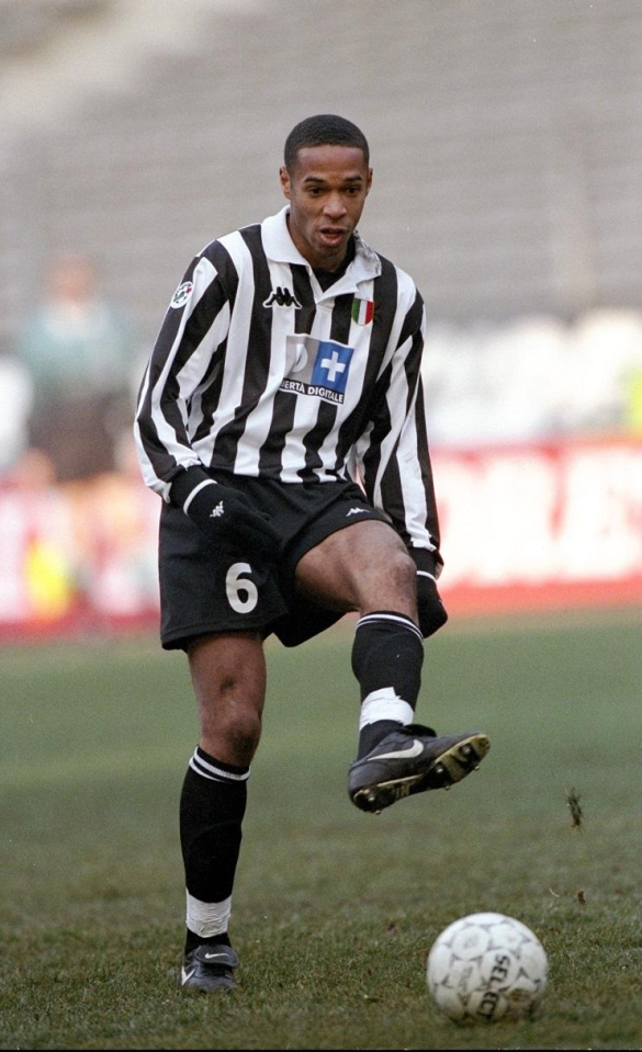 Remembering Thierry Henry's days as a left-winger with Monaco and Juventus