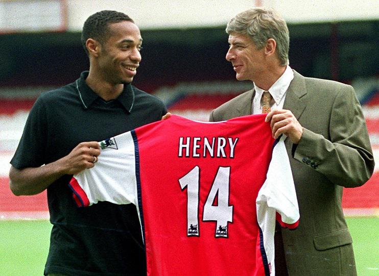 The exact moment Wenger knew he'd signed a world class forward that nobody knew existed