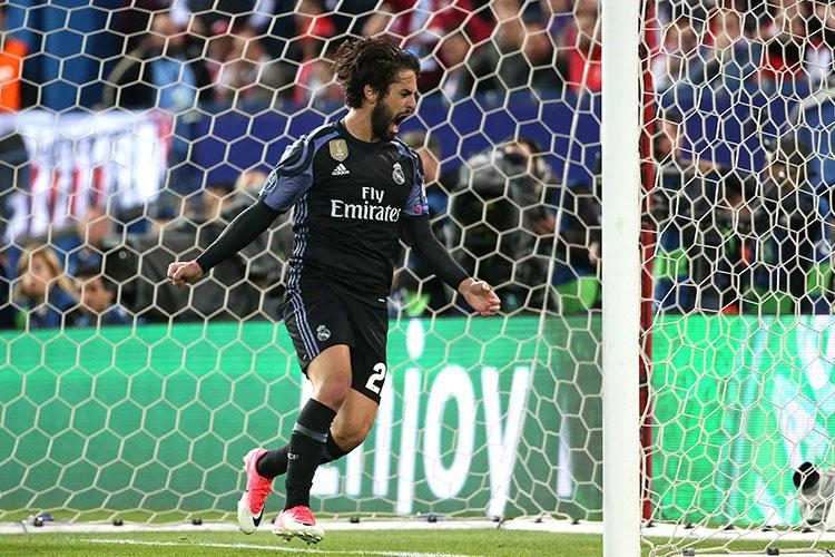 Isco's goal means Atletico have their work cut out