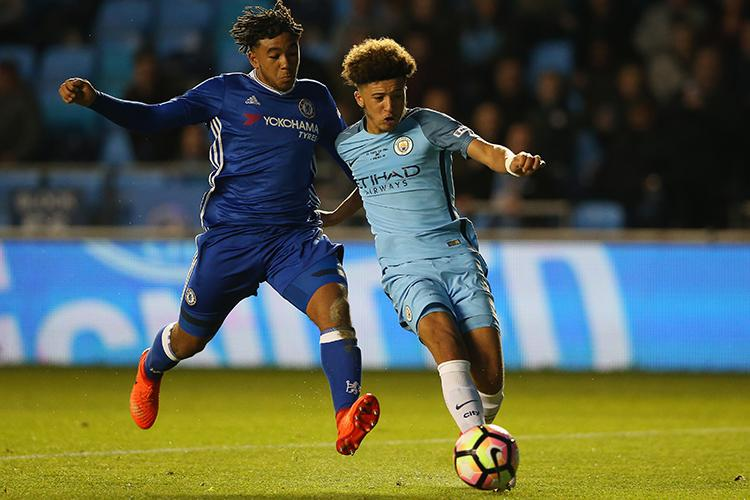 Sancho faces competition to get in City's first-team