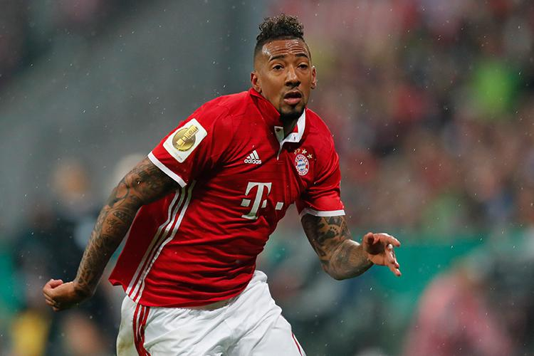Boateng will be watching from home. Or probably not…