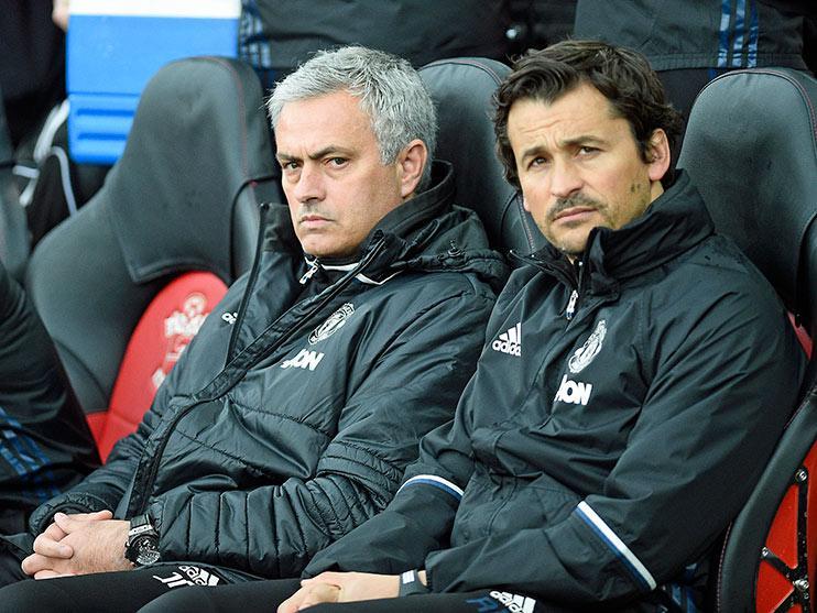 Jose Mourinho, probably livid about something.