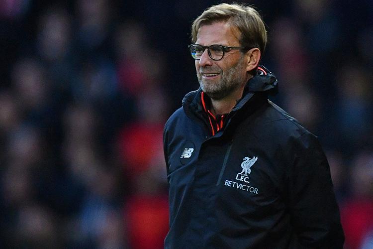 Jurgen Klopp watches on as Liverpool take on Watford