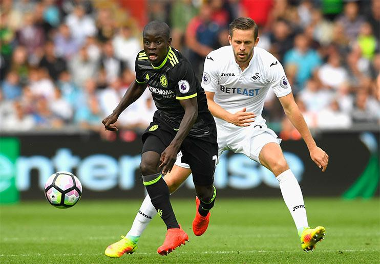 The fittest player in the Premier League… and N'Golo Kante