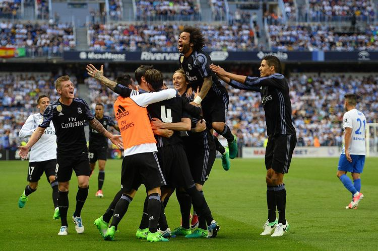 The Real Madrid players knew it was settled after Benzema's goal