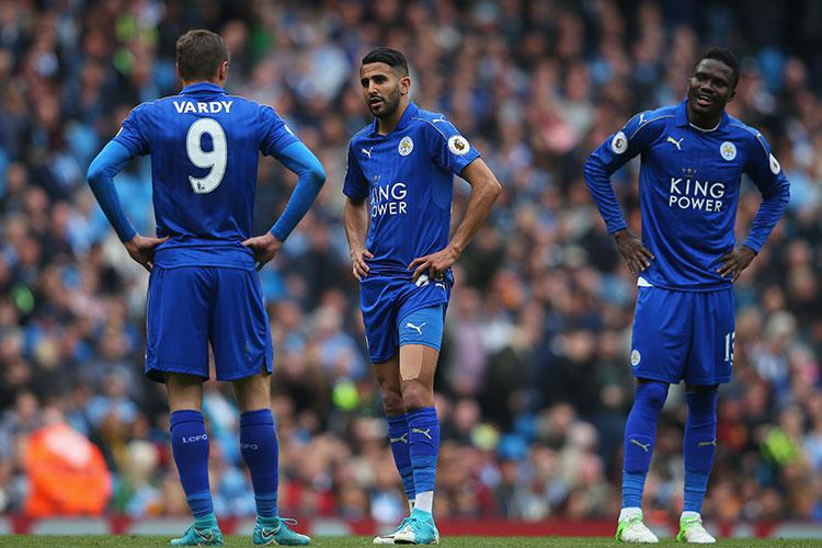Mahrez and co are gutted, clearly