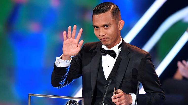 This man has won more Puskas Awards than Lionel Messi
