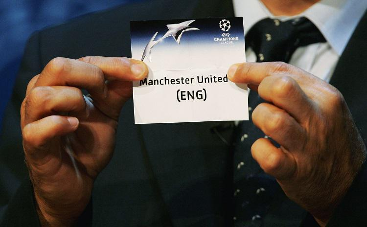 Man United have been placed in Pot 2 for the Champions League 2017/18 draw