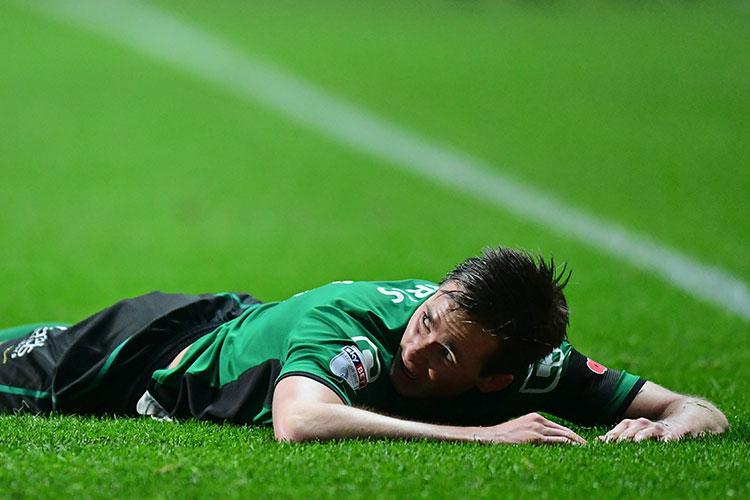 Josh Morris... on the turf