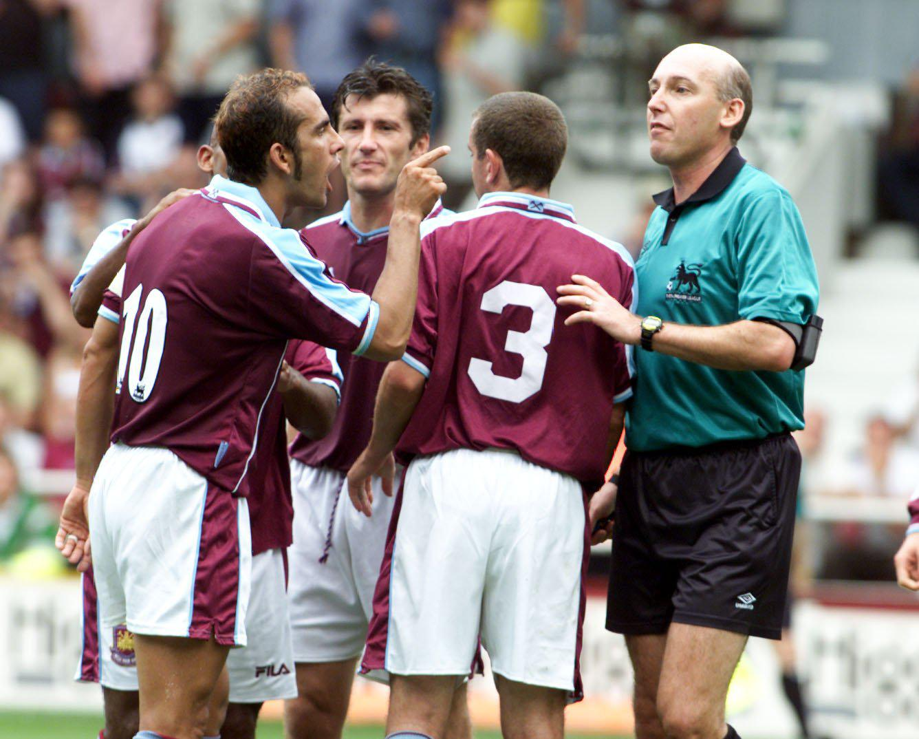 Paulo Di Canio was at the heart of the action