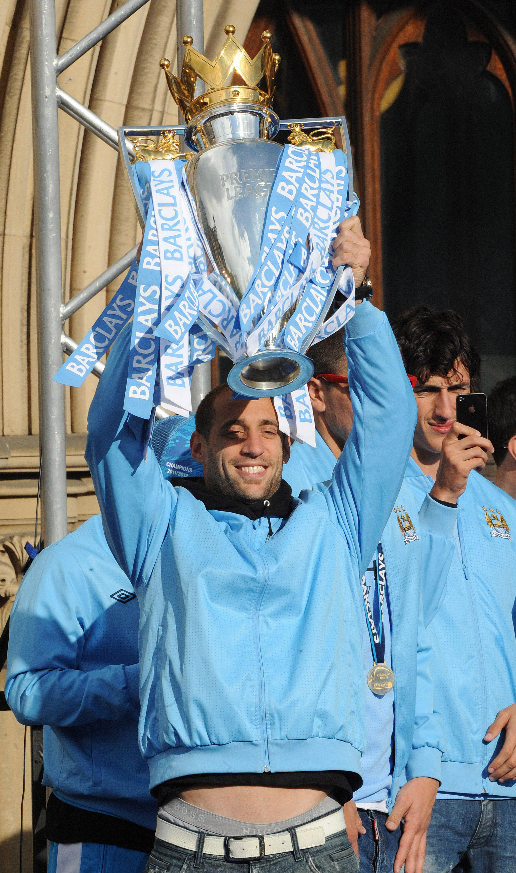 Pablo Zabaleta helped mould Man City into a Premier League powerhouse