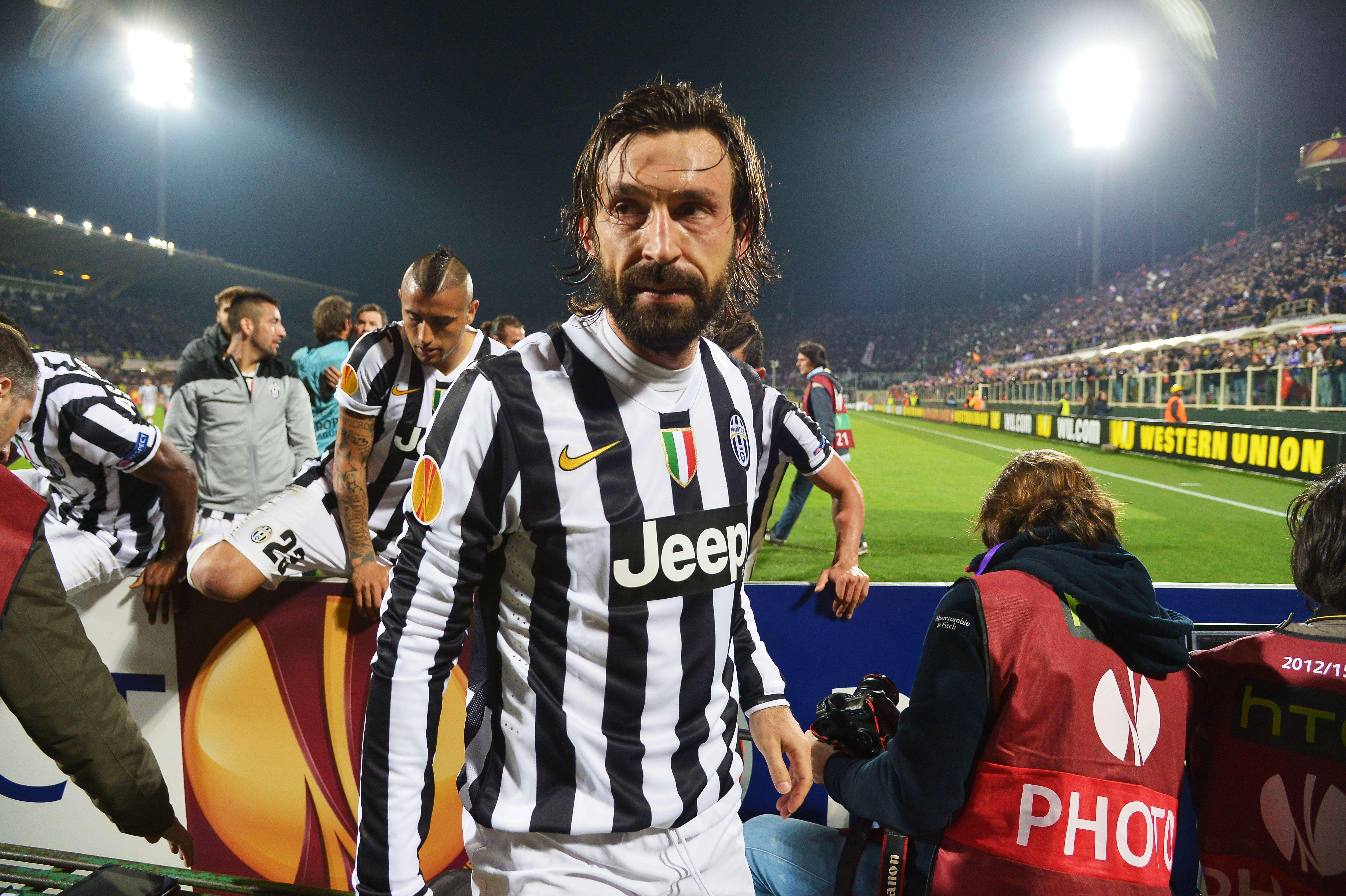 Pirlo has played with some of the greatest ever