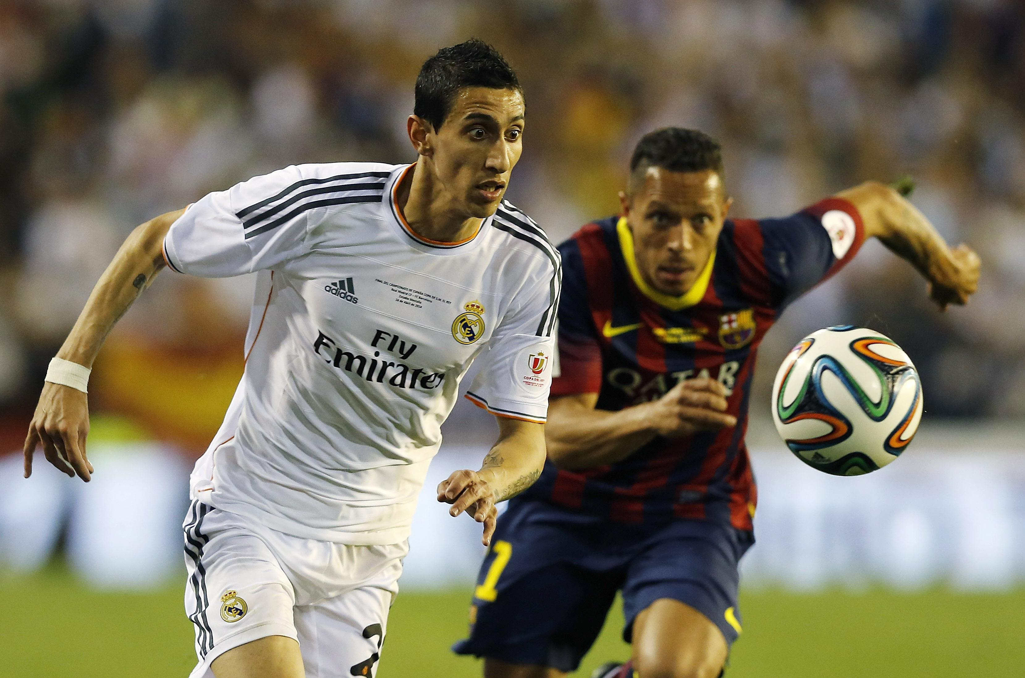 Di Maria was the man of the match in the 2014 Champions League final for Real