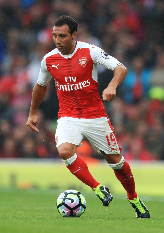 Santi Cazorla has been ruled out for at least another five months