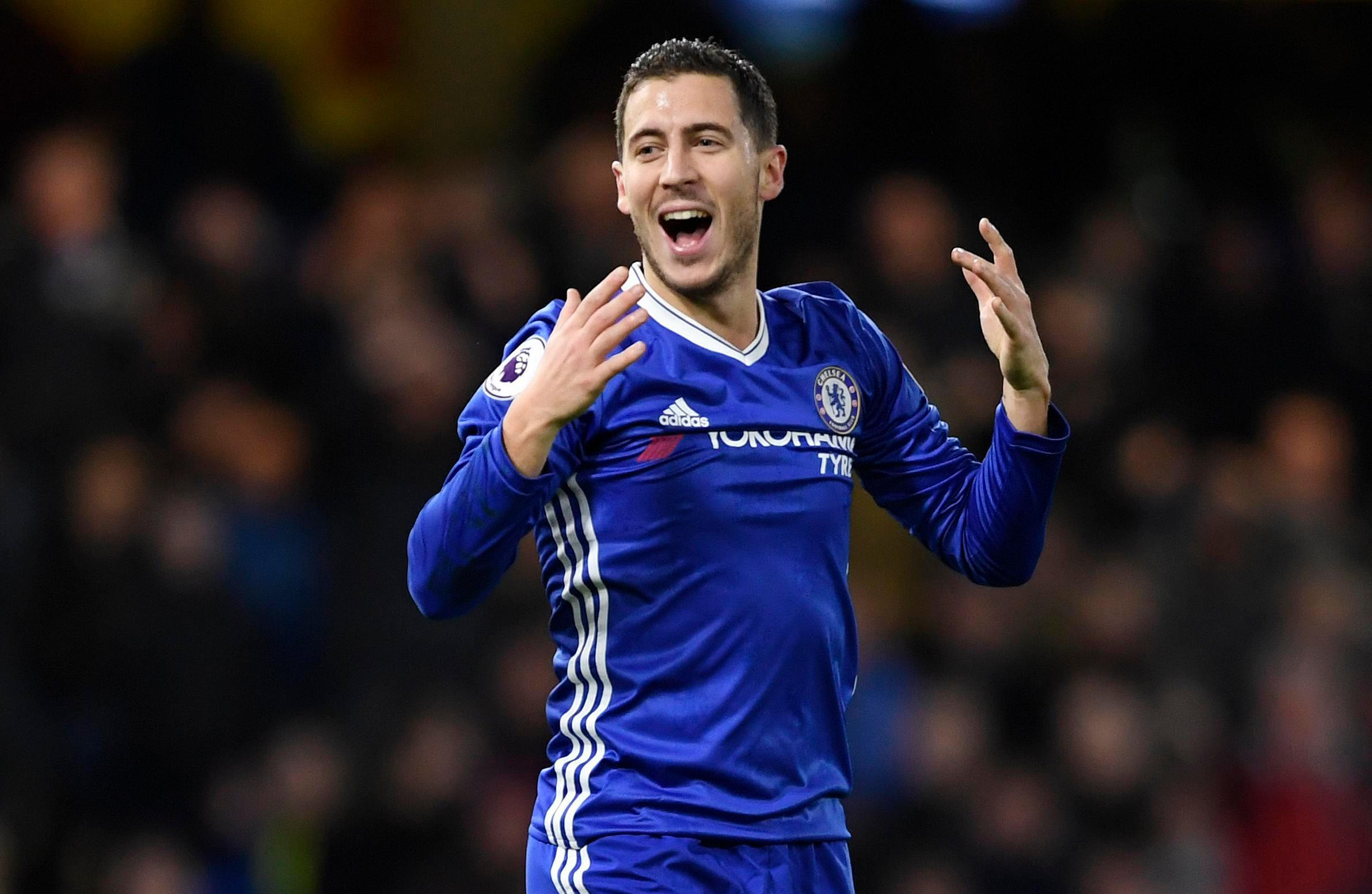 Eden Hazard has been back to his best this season