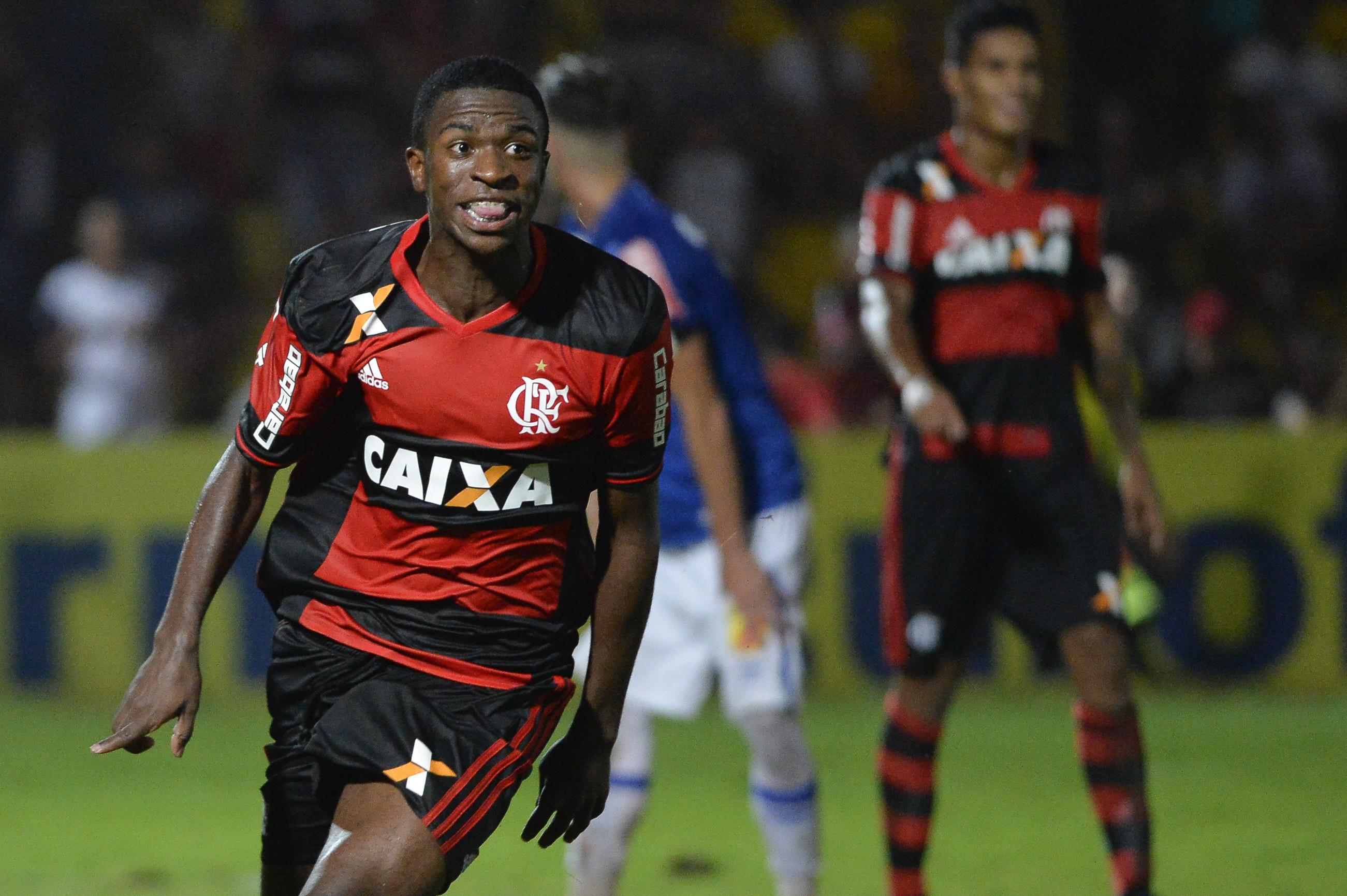 Vinicius Junior is being dubbed Brazil's best new talent