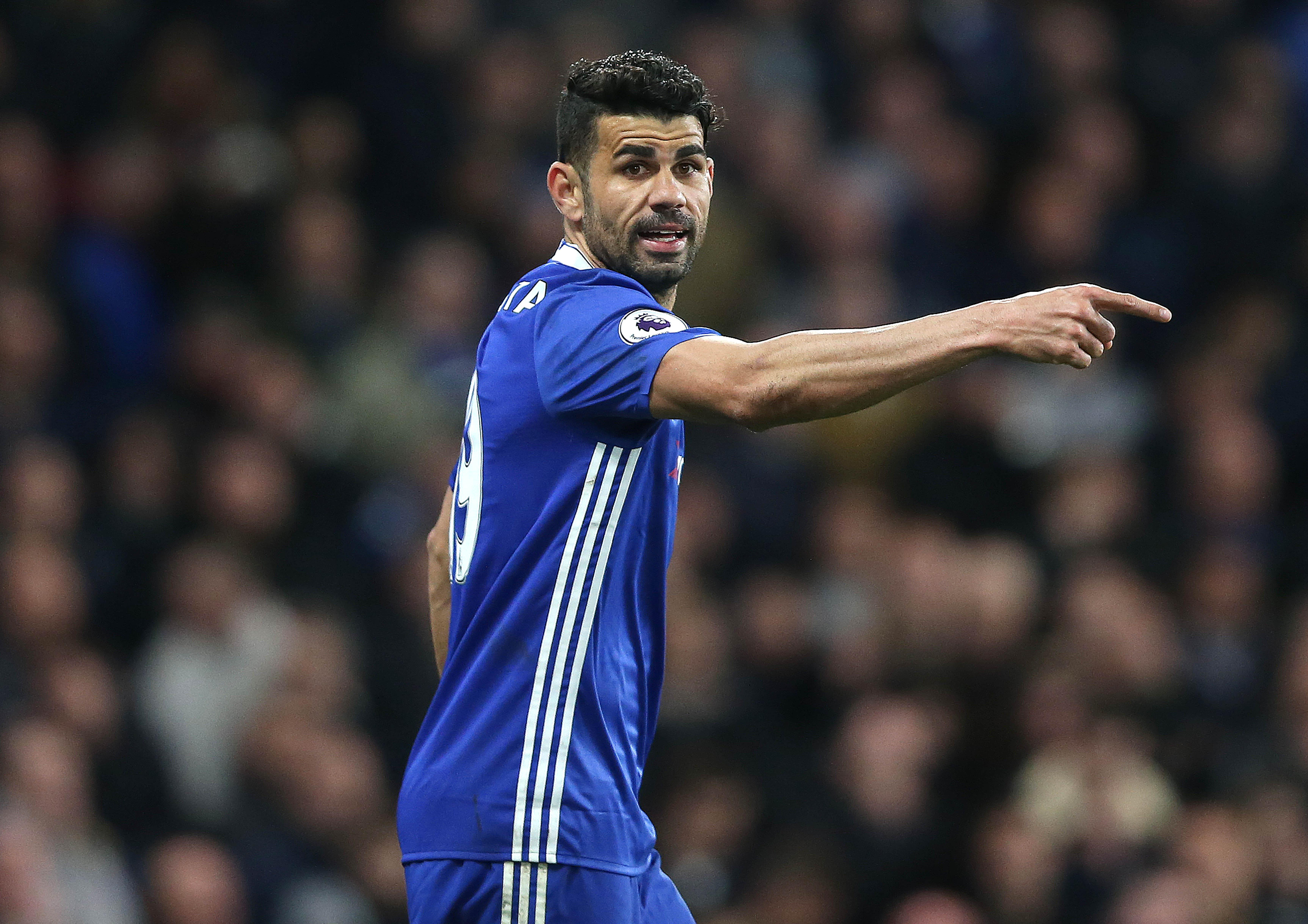 Diego Costa looks set to leave for China in the summer