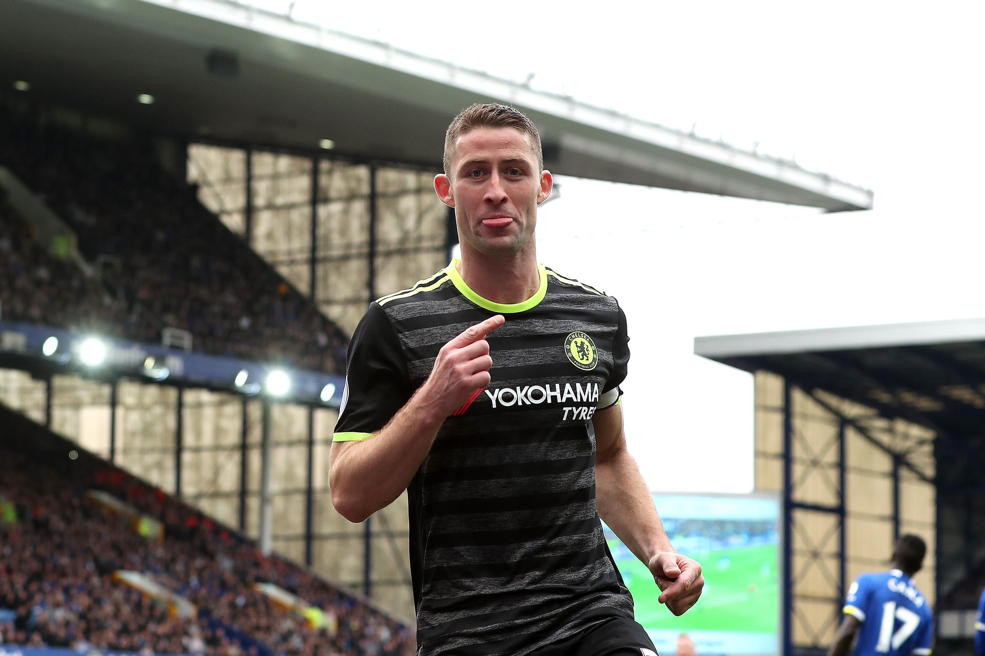 Gary Cahill has been a regular goalscorer as well as solid at the back