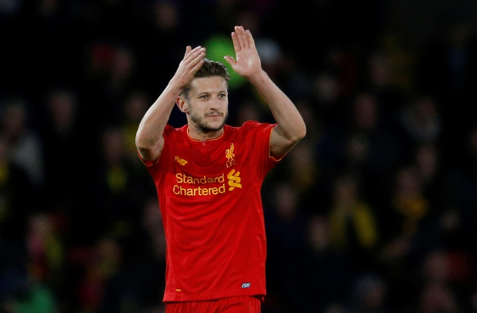 Lallana has been a huge miss for Liverpool during his injury problems