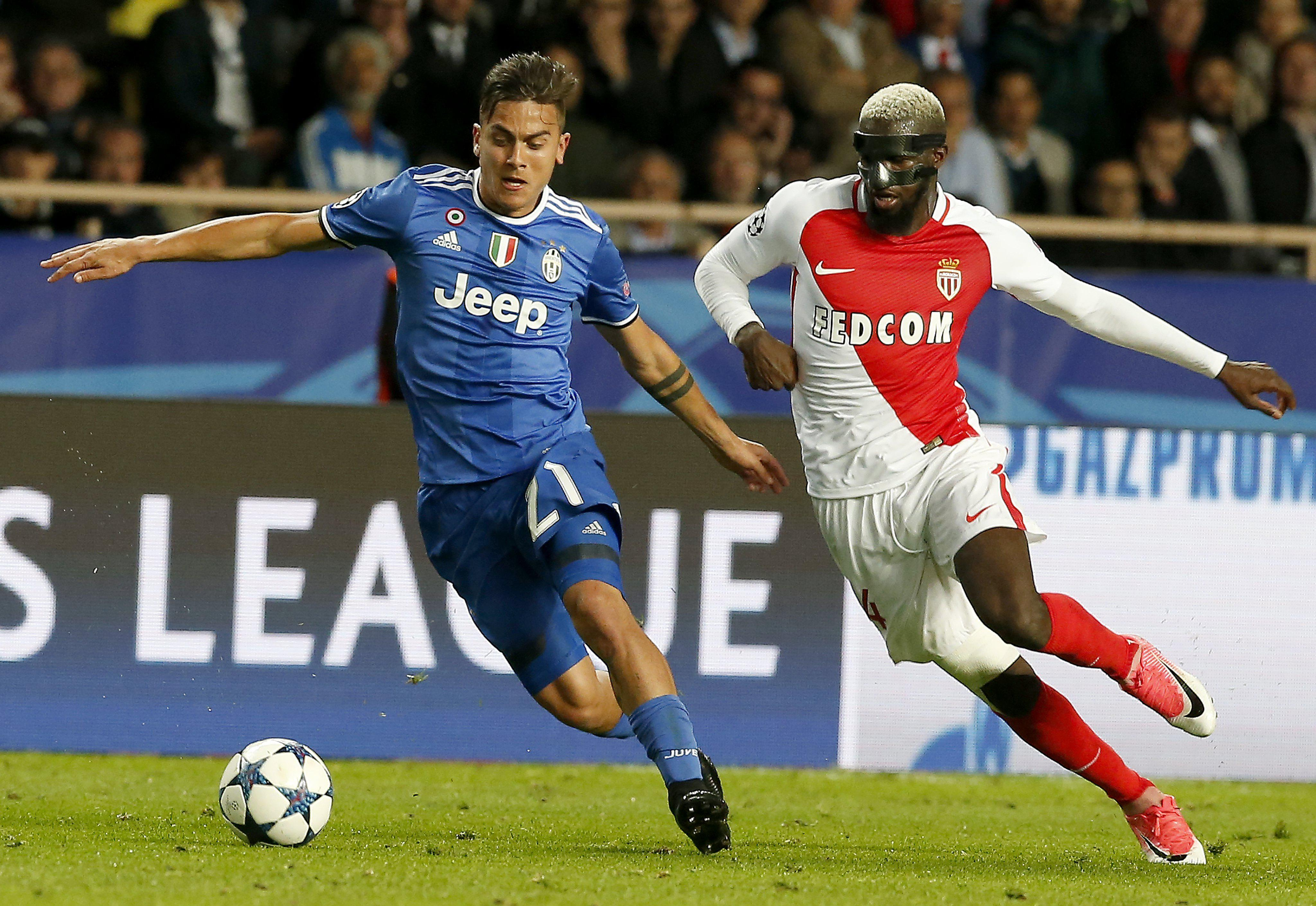 Bakayoko struggles to keep up with Paulo Dybala