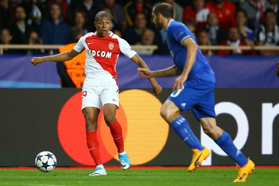 Monaco striker Kylian Mbappe has been a revelation this season as he has dazzled Europe with a string of scintillating performances