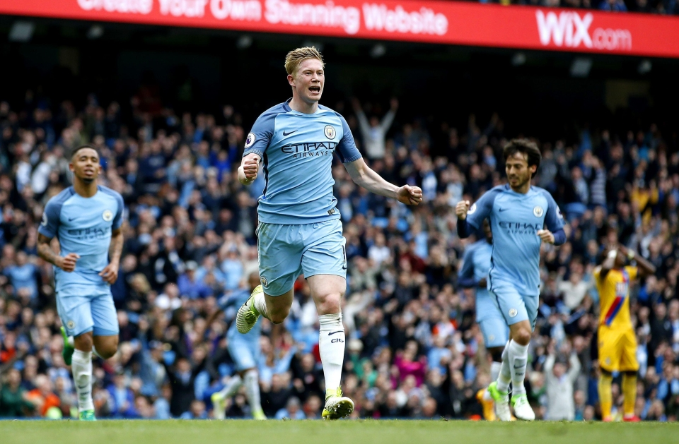 Kevin De Bruyne has been in the goals recently