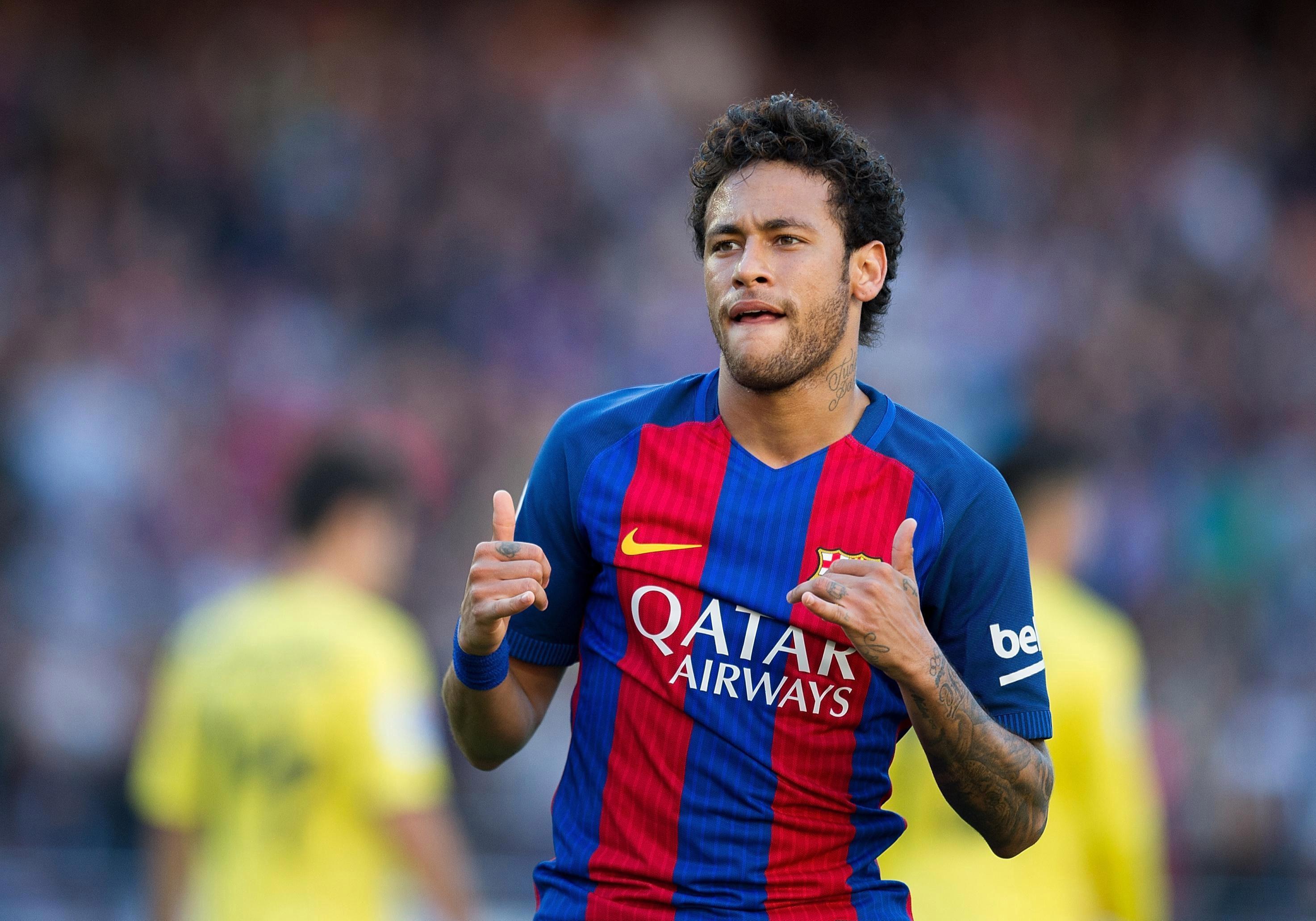 Neymar was used as bait by Barcelona