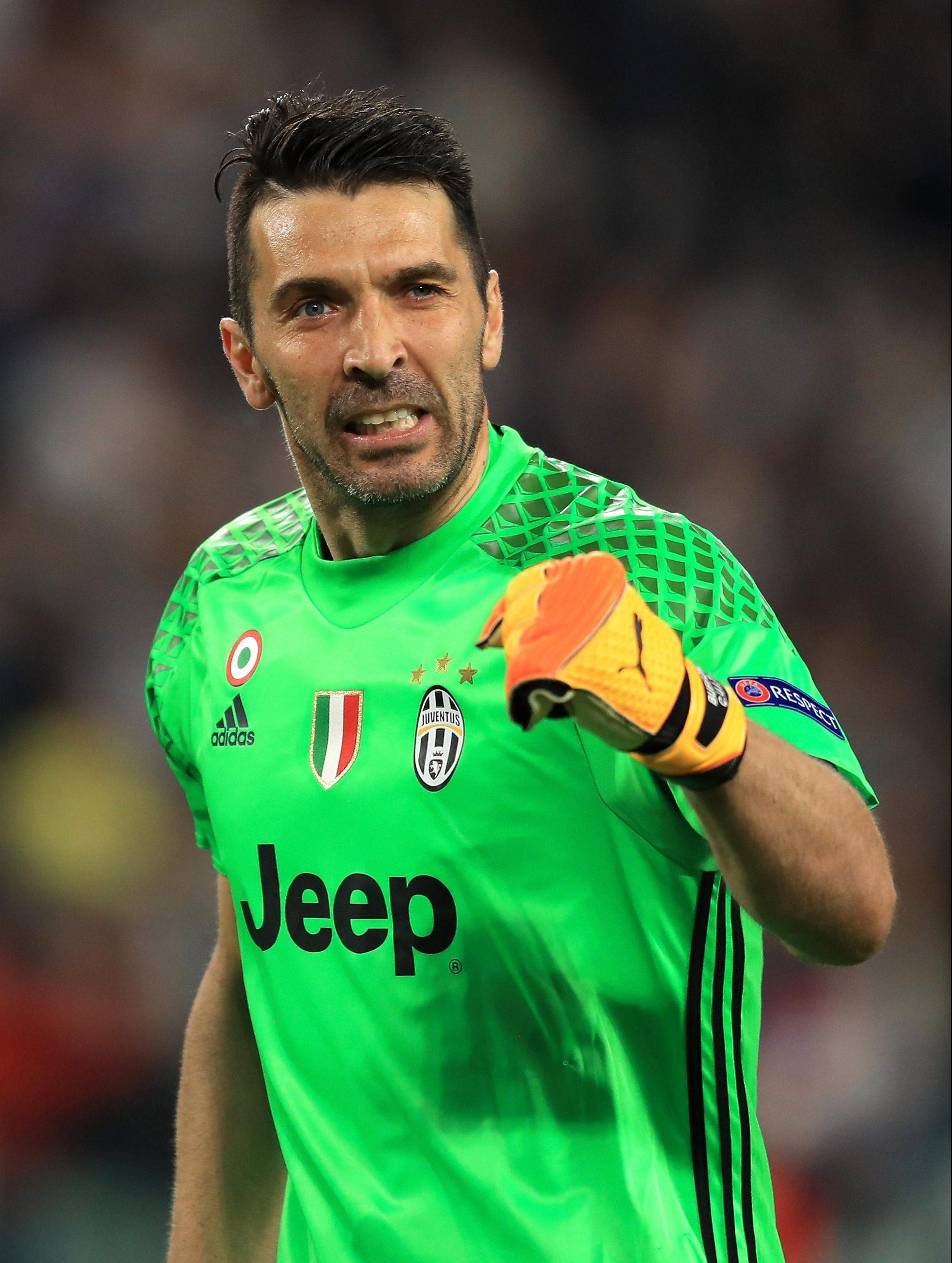 Legendary Juventus keeper Gianluigi Buffon remains on course to win his first-ever Champions League
